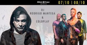 Rodrigo Mantega & Coldplay no Allianz Parque